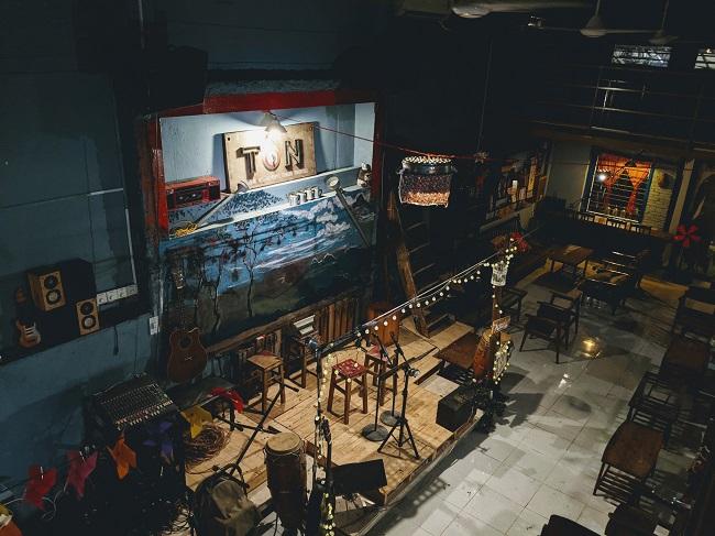 Tôn Cafe – Cafe Acoustic tại Sài Gòn