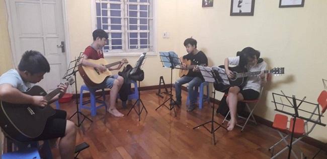 TYGY Music Center - Trung tâm học đàn Guitar ở Hà Nội