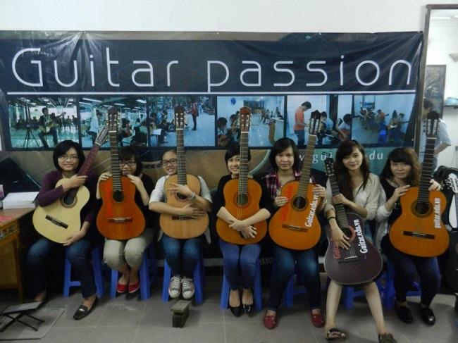 Trung tâm học Guitar Passion