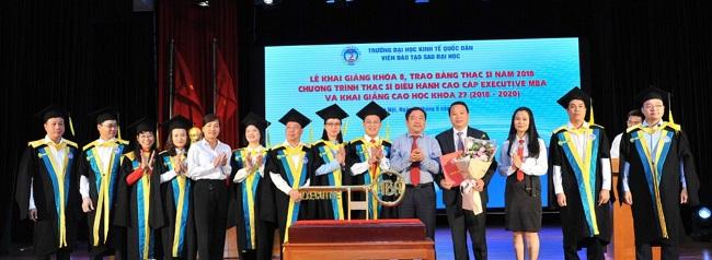 Lễ tốt nghiệp khóa học MBA tại đại học Kinh tế Quốc Dân (NEU)