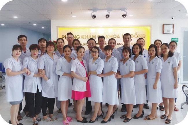 Đội ngũ y bác sĩ tại Phòng khám Đa Khoa Kỳ Đồng