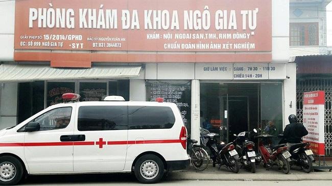 Phòng khám đa khoa Ngô Gia Tự - địa chỉ khám nam khoa ở Hải Phòng