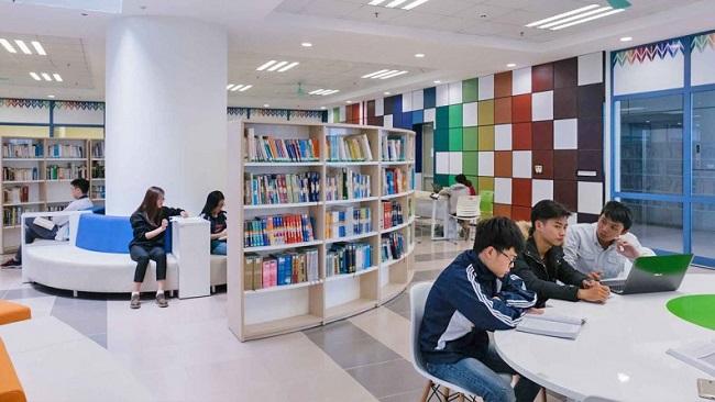 Phòng tự học của Trường Đại học Kinh tế Quốc dân