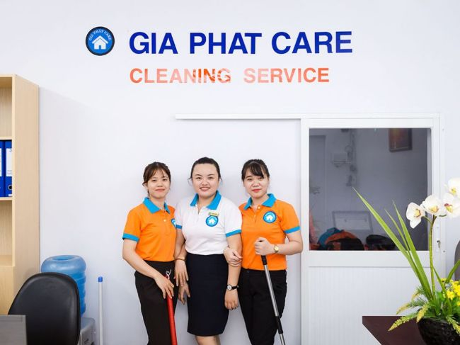 Công ty dịch vụ vệ sinh tại TPHCM Gia Phát Care