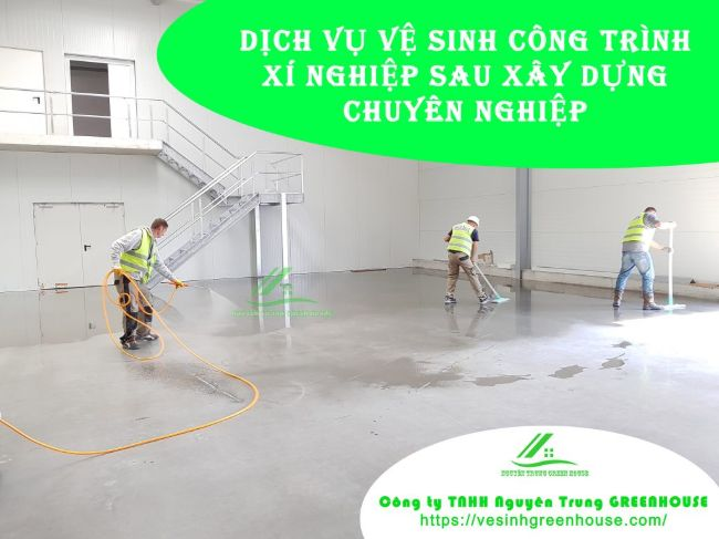 Dịch vụ vệ sinh nhà ở TPHCM Green House