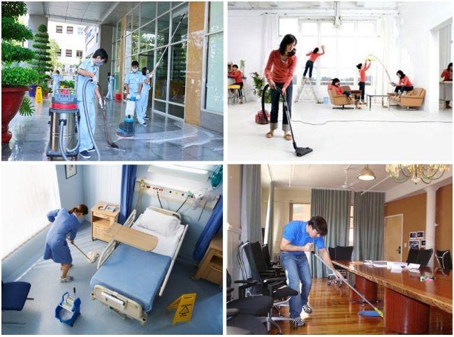 Công ty dịch vụ vệ sinh tại TPHCM Nhà Đẹp