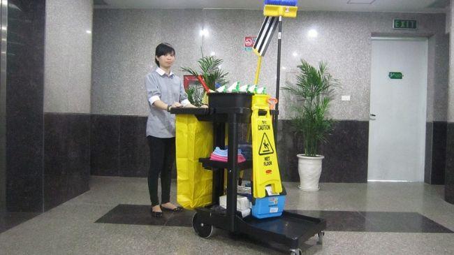 Dịch vụ vệ sinh nhà ở TPHCM Thái Nguyễn