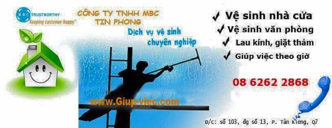 Dịch vụ vệ sinh nhà ở TPHCM Tín Phong MBC