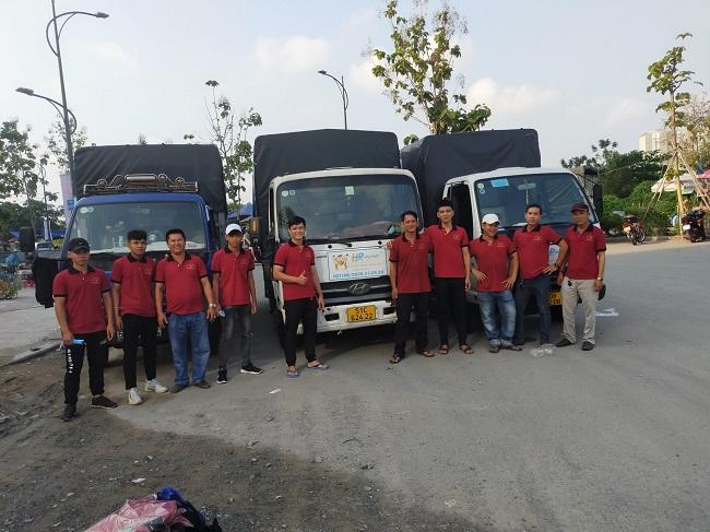 Dịch vụ chuyển nhà Taxi tải Hòa Phát