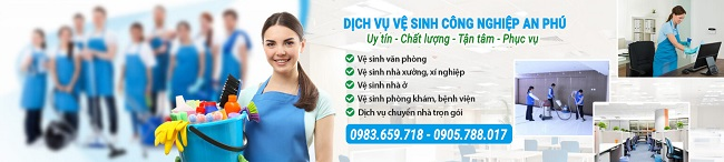 An Phú - Công ty vệ sinh công nghiệp Đà Nẵng